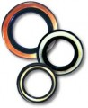 Oil seals for high and low speeds